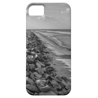 Sea Barrier Atlantic Ocean Georgia Black and White iPhone 5 Cases