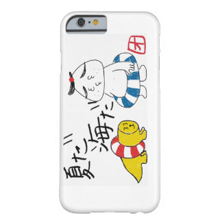 Sea bathing barely there iPhone 6 case