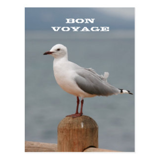 Sea Bird Bon Voyage Postcard