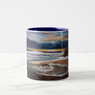 Sea Bird Two-Tone Coffee Mug