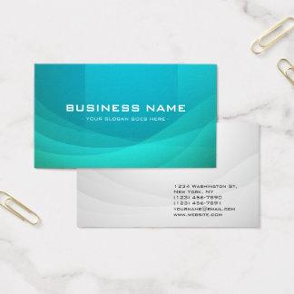 Sea Blue Professional Business Card