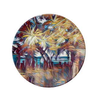 Sea Breeze Porcelain Plates