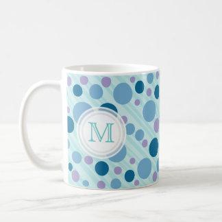 Sea Bubbles Monogram Mug
