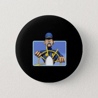 Sea Captain 2 Inch Round Button