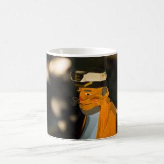 Sea Captain Black/White 11 oz Morphing Mug