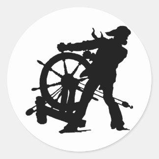 Sea Captain Classic Round Sticker