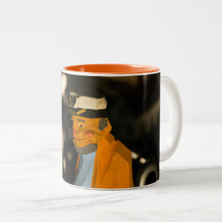 Sea Captain Orange 11 oz Two-Tone Mug