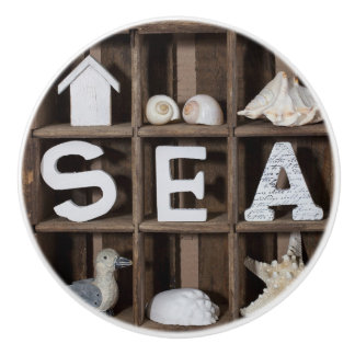 Sea Collection Ceramic Knob