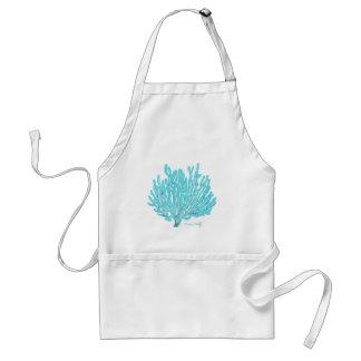 Sea coral apron