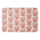 Sea coral bath mat
