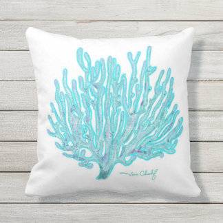 Sea coral pillow