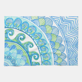 Sea Corner Kitchen Towel