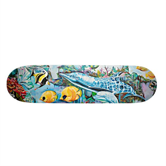 Sea Creatures Oceanic Skateboard