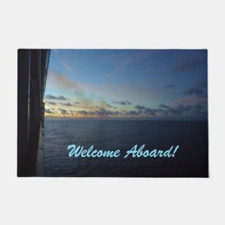 Sea Days Welcome Aboard Doormat