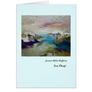 Sea Deep Card