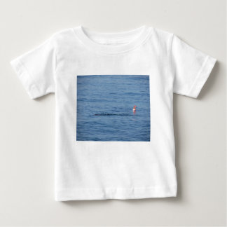 Sea diver in scuba suit swim in water baby T-Shirt