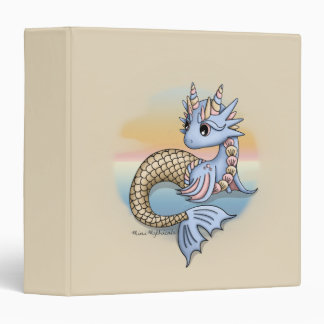 "Sea Dragon 1.5"" 3 Ring Binder"