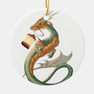 Sea Dragon Ceramic Ornament