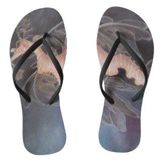 SEA DRAGON Flip Flops