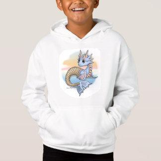 Sea Dragon Sunset Kid's Pullover Hoodie Sweatshirt