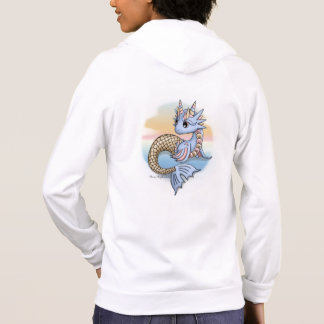 Sea Dragon Sunset Women's Zip Up Hoodie Sweatshirt