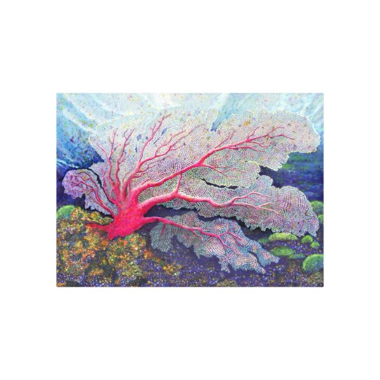 """Sea Fan"" Canvas Print"