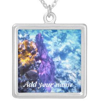 Sea Fan Personalized Necklace