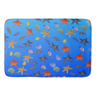 Sea Fantasy by The Happy Juul Company Bath Mat