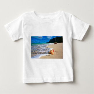 Sea Fever by: John Masefield Baby T-Shirt