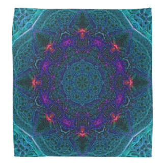 Sea-Fire Dome Mandala Bandana