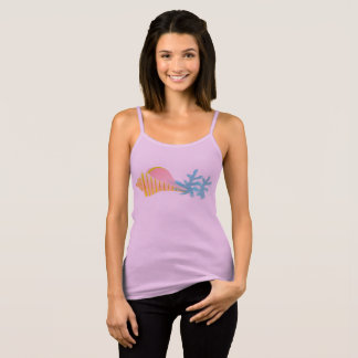 Sea Fish Bella+Canvas Spaghetti Strap Tank T