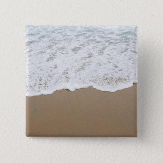 Sea foam, Ocean Waves 2 Inch Square Button
