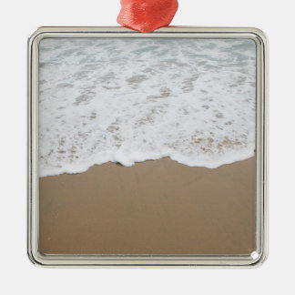 Sea foam, Ocean Waves Metal Ornament