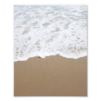 Sea foam, Ocean Waves Photo Print