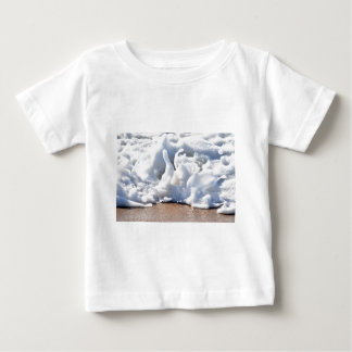 SEA FOAM ON BEACH QUEENSLAND AUSTRALIA BABY T-Shirt