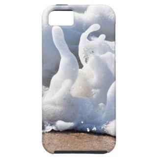 SEA FOAM ON BEACH QUEENSLAND AUSTRALIA iPhone 5 CASES