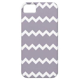 Sea Fog Purple Chevron iPhone 5 Case