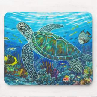 Sea Friends Mouse Pad
