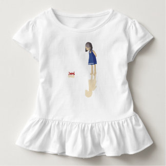 Sea girl toddler t-shirt