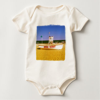 Sea Girt Lifeguard Boat Baby Bodysuit
