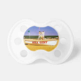 Sea Girt Lifeguard Boat Baby Pacifier