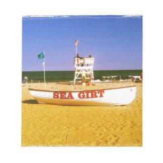 Sea Girt Lifeguard Boat Notepads