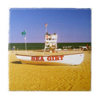 Sea Girt Lifeguard Boat Tiles