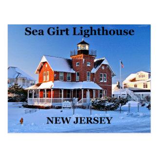 Sea Girt Lighthouse, New Jersey Postcard
