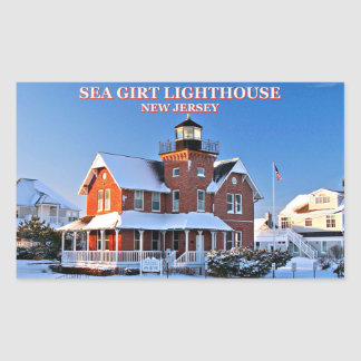 Sea Girt Lighthouse, New Jersey Stickers
