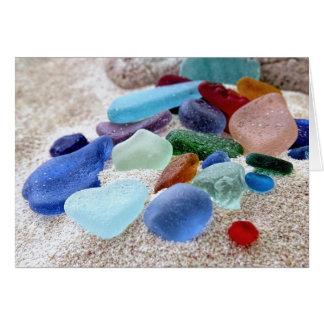 Sea Glass Assortment Card