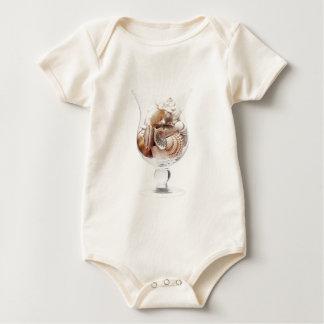 Sea glass baby bodysuit