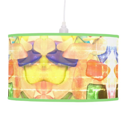 Sea Glass Ceiling Lamps