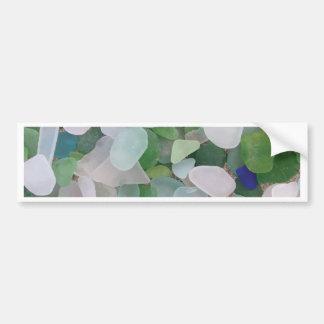 Sea glass from the ocean bumper sticker
