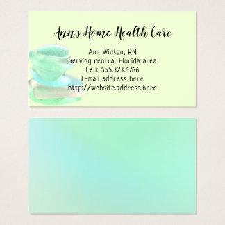 Sea Glass Green Home Health Care Cards